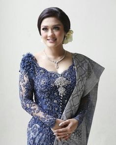 Vera Kebaya, Kebaya Lace, Batik Kebaya, Batik Dress, Kebaya Brokat, Model Dress Kebaya, Kebaya Modern Dress, Traditional Fashion, Traditional Dresses