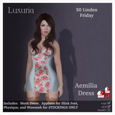 {Luxuria} Ameilia Dress for Fifty Linden Friday | Flickr - Photo Sharing!