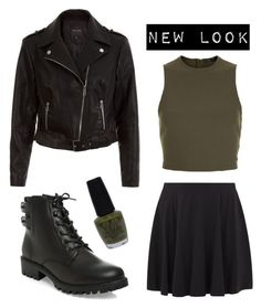 """New Look"" by dye-like ❤ liked on Polyvore featuring New Look and OPI"