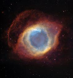 Helix Nebula, Eye of God. Hubble shot.