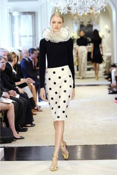 Love this skirt! #RalphLauren Latest New York 2015 Resort Collection #fashionshows #fashionevents