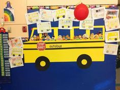 Autobus Preschool Ideas, Preschool, Crafting