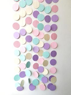 Hey, I found this really awesome Etsy listing at https://www.etsy.com/listing/527037725/unicorn-circle-paper-garland-pastel-pink