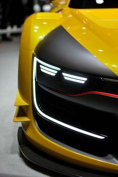PARIS MOTORSHOW CARS DETAILS   2014 on Behance