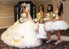 Our Photos page highlights some of the best moments from My Big Fat American Gypsy Wedding. Check out photos from My Big Fat American Gypsy Wedding. Gypsy Wedding Gowns, My Big Fat Gypsy Wedding, Gipsy Wedding, Dream Wedding, Magical Wedding, Gypsy Dresses, Flower Girl Dresses, Gypsy Outfits, Fat Bride