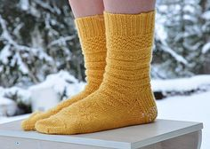 """The Mystery Sock KAL was hosted on the """"A wee bit knitty"""" PODCAST group in October/November 2014. Which means that the KAL is over, but you are welcome to knit this pattern, KAL or no KAL."""