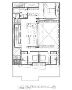 Galería Casa Ben GP / Wahana Architects. Imagen 18 de 20. Planta 3er piso de 3 niveles
