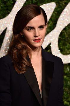 Emma Watson at  the British Fashion Awards, 2014.