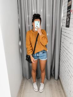 Short Outfits, Girl Outfits, Casual Outfits, Cute Outfits, Fashion Outfits, Boho Fashion, Autumn Fashion, Fashion Looks, Womens Fashion