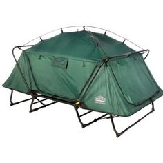 "Kamp-Rite's Double Tent Cot is the two-person version in the line of Tent Cot products. The sturdy aluminum frame keeps you 11"" above the ground to provide comfort and protection from insects, rocks and dampness."