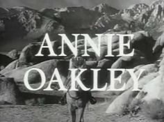 "Annie Oakley is an American Western television series about the life of famous sharpshooter Annie Oakley. It ran from January 1954 to February 1957 in syndication. The show stars Gail Davis in the title role; co-starred Brad Johnson as Deputy Sheriff Lofty Craig; Jimmy Hawkins, as Annie's brother, Tagg. In one episode the role of Tagg was played by Billy Gray, better known as James ""Bud"" Anderson, Jr., on Father Knows Best. In the series, Annie Oakley rode a horse named Target,"