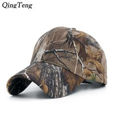 5dc54047 Men's Brand 100% Cotton Camouflage Hunting Baseball Cap Fishing Tactical  Outdoor Camo Peaked Cap Sunshade Hiking Hat 2018 [orc32858738982] - $29.58  : ...