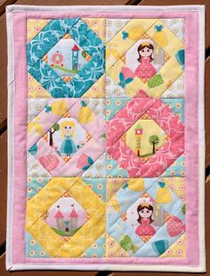 Tell Me A Story Doll Quilt from Intentional Piecing