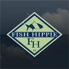 1000 images about preppy peel stick on pinterest for Fish hippie sticker