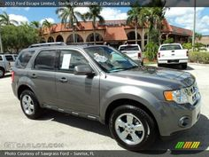 2010 Ford Escape Limited in Sterling Grey Metallic. Click to see large photo.