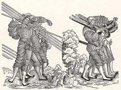 Artist: Stör, Niklas, Title: Soldatenzug, Fünf Büchsenschützen, Fünf Knechte…