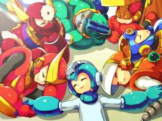 (art by ザキコ) ((I think this is a reference to Hydian)) Maverick Hunter, Proto Man, Keiji Inafune, Megaman Zero, Megaman Series, Fighting Robots, Man Character, Anime Fnaf, Guy Pictures