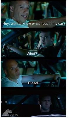 fast and the furious- i really don't know why i find this so funny but i do