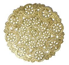 Gold medallion doilies- 50 doilies- 8 inch, gold and perfect for the holidays €14 (Perfect)