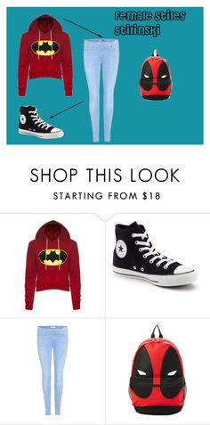 """""""Fem Stiles Stilinski 01"""" by taylor-ross115 on Polyvore featuring Converse and 7 For All Mankind"""