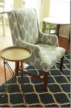 Thrift Chair Makeover