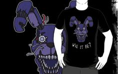 ======= Shirt for Sale ======= Five Nights at Freddy's - Nightmare Bonnie - Was It Me? by Kaiserin=========================   #FNAF