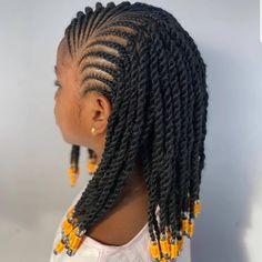 Lil Girl Hairstyles Braids, Braided Hairstyles For Teens, Easy And Beautiful Hairstyles, Cute Little Girl Hairstyles, Black Kids Hairstyles, Natural Hairstyles For Kids, Princess Hairstyles, Natural Hair Styles, Kid Braid Styles