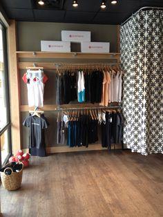 Retail area. dressing room