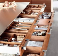 Kitchen perfection with Poggenpohl #poggenpohl #kitchen #accessories