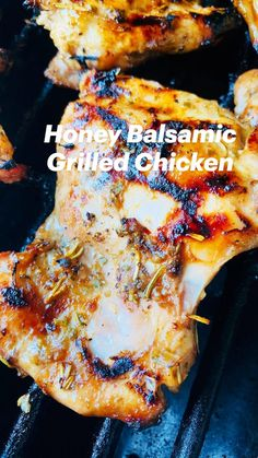 Balsamic Marinade, Balsamic Grilled Chicken, Balsamic Vinegar Chicken, Grilled Meat, Easy To Make Dinners, Easy Meals, Honey Garlic Pork Chops, Summer Grilling Recipes, Meal Planning