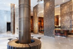 Sheraton Grand Los Angeles - Lobby, Entrance