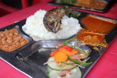 A big filling Tanzanian lunch