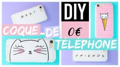 DIY COQUE DE TÉLÉPHONE FACILE 0€ : KAWAII & BFF (français)