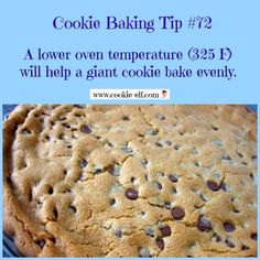 Cookie Baking TIp #72 from The Cookie Elf and more cookie baking tips: http://www.cookie-elf.com/baking-cookies-tips.html#sthash.JDB9Aw0V.dpbs