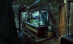Interior Concept Art , Federico Belingheri on ArtStation at https://www.artstation.com/artwork/YznDP