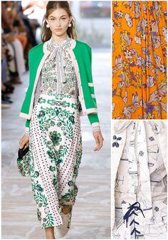 Tory Burch – New York Fashion Week: Ready To Wear Spring 2017 Print Highlight