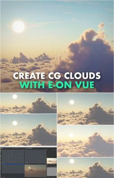 Welcome, in this course you will learn the techniques to create clouds, skies, and Atmospheres. I will explain the types of clouds, and which are necessary if… Illustrator Tutorials, Art Tutorials, Digital Sculpting, Clear Blue Sky, Cg Artist, Digital Art Tutorial, Blender 3d, 3d Animation, Zbrush