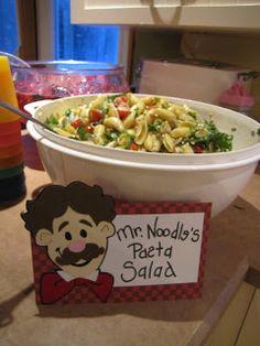 Mr Noodle, Sesame Street Birthday Party