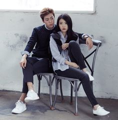 IU and Lee Hyun Woo for Union Bay