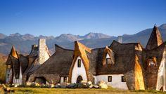 Castelul de lut de la Porumbacu de Sus