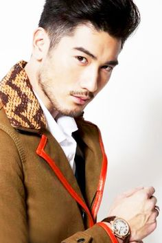 Godfrey Gao    Works in: Taiwan Claims to fame: All About Women, The Mortal Instruments: City of Bones Fun fact: He's a model and voiced Ken in the Taiwan release of Toy Story 3.