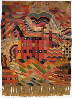 GUNTA STOLZL  Some Bauhaus tapestry