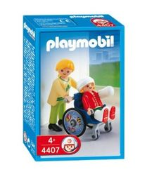 Just for fun or to cheer up your favorite little girl: Playmobil 4407 Child with Wheelchair