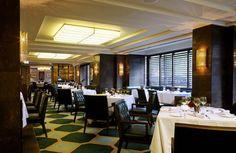 The Rib Room Bar & Restaurant, Jumeirah Group, Martin Brudnizki Design Studio Fluorescent Lamp, Acrylic Panels, Wall Lights, Ceiling Lights, One Light, Restaurant Bar, Sconces, Custom Design, Lounge