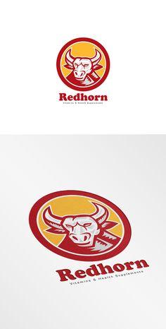 Red Horn Vitamins Supplements Logo