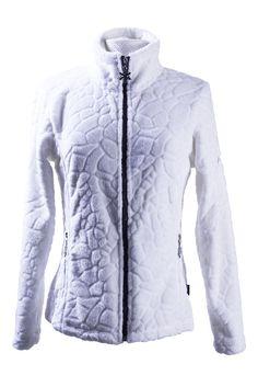 veste polaire femme Galway blanc