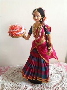 South Indian Doll by ARTEFAKT  https://www.facebook.com/pages/ARTEFAKT-Papier-machie-artwork/237314706295955?id=237314706295955&sk=app_372707152867076