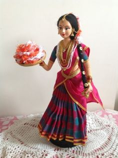 South Indian Doll by ARTEFAKT  https://www.facebook.com/pages/ARTEFAKT-Papier-machie-artwork/237314706295955?id=237314706295955&sk=app_372707152867076