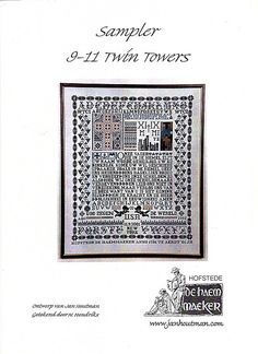 Sampler 9-11 twin towers - Jan houtman