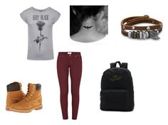 """Untitled #61"" by destinyaldridge on Polyvore featuring Paige Denim, Timberland, BillyTheTree and Vans"